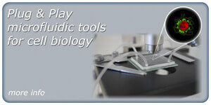 Microfluidic kit for cell biology
