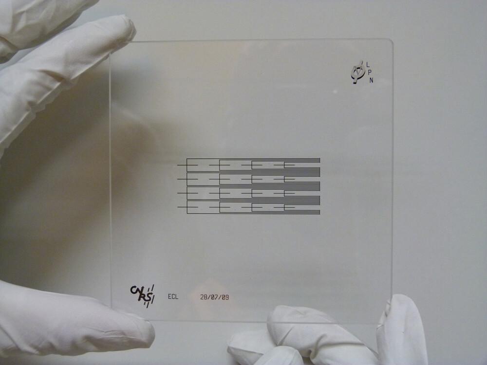 masque microfluidique