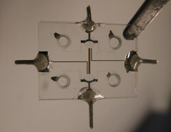 puce microfluidique verre