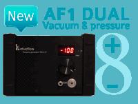 Dual vacuum & pressure generator
