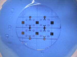 free copyright  Dicing of Microchip wafer