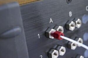microfluidic MUX switch valve PEEK details