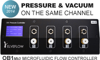 OB1 microfluidic flow control