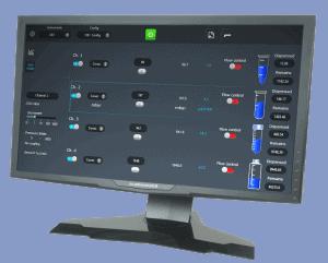 microfluidic flow control software sdk