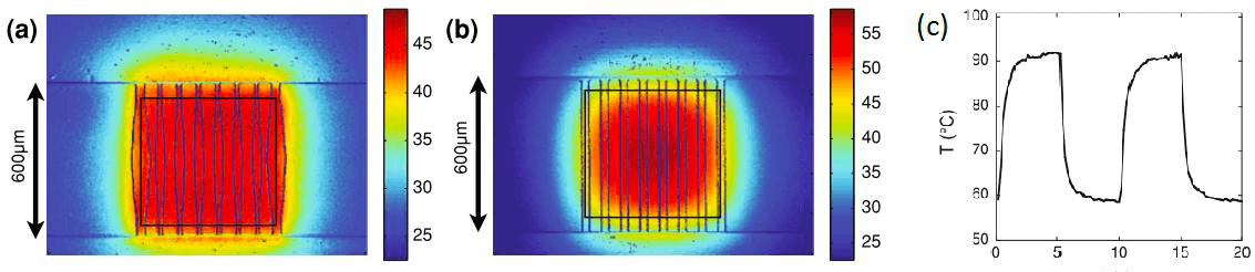 A Review of Heating and Temperature Control in Microfluidic Systems temperature distribution