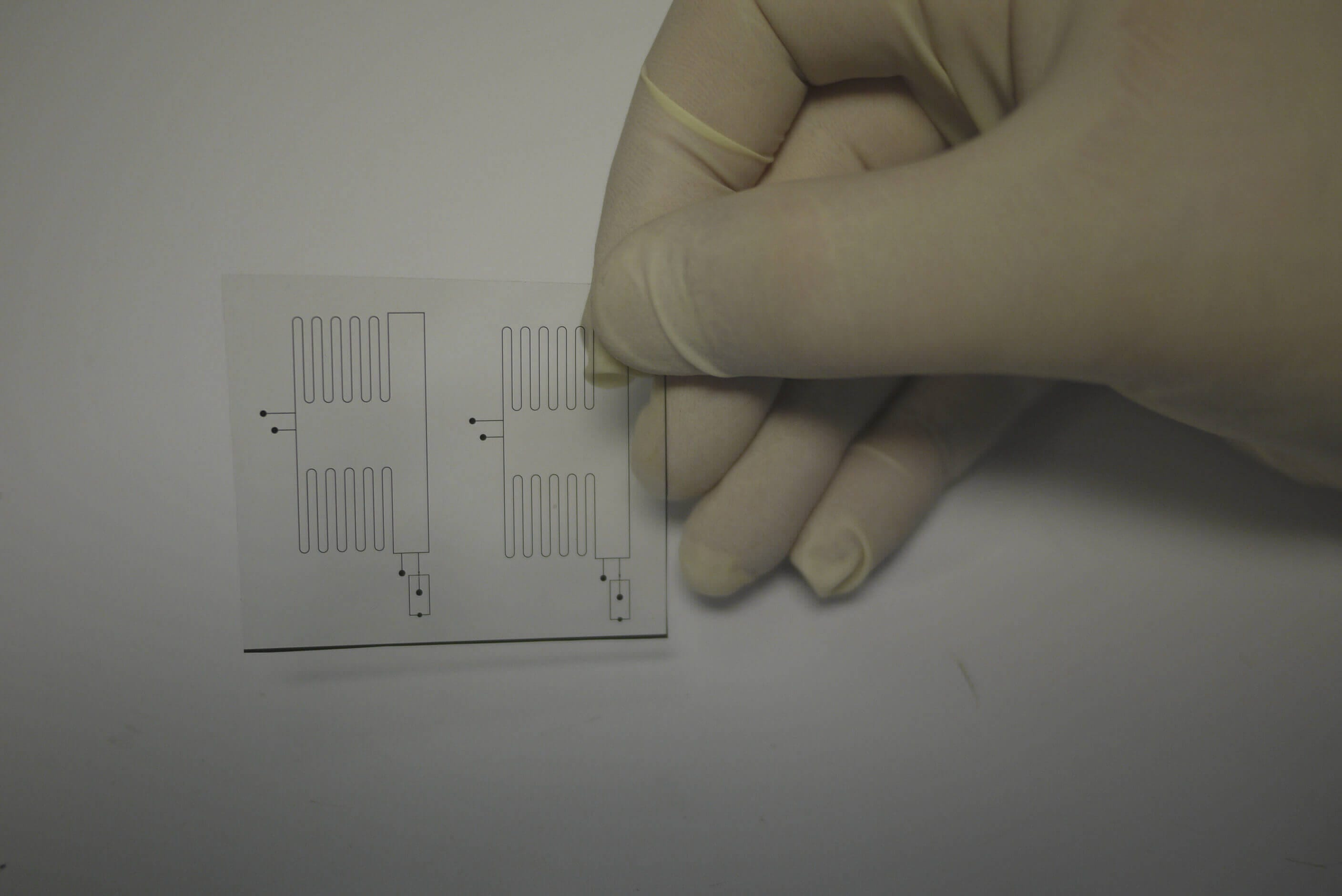Microfluidic and PDMS soft lithography : Transparency photomask