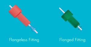 Microfluidic-Fittings-And-Plugs-Thread-Flanged-VS-Flangeless