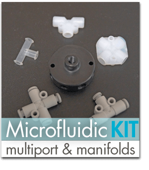 Multi-Port Fluidic Connectors