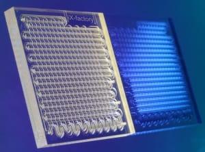 microfluidic and syringe pump Microreactor_iX-factory
