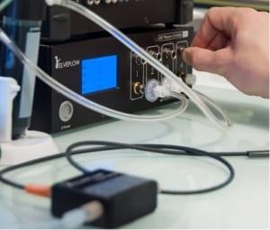 microfluidic-liquid-mass-flow-sensor
