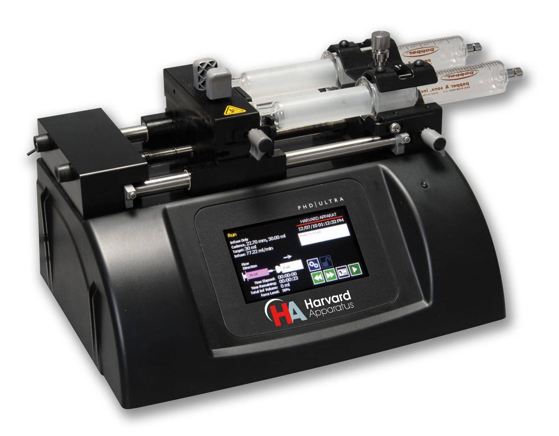 microfluidic syringe pump