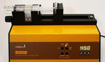 syringe pump oscillation 23