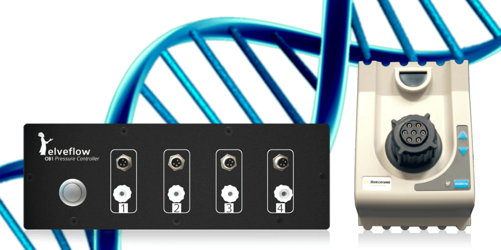 Injection platform for DNA assays on chip