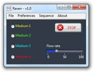 Raven software perfusion and switch microfluidics - Injection platform for biochemistry molecular biology
