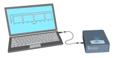 FluoBo fluorescence detection