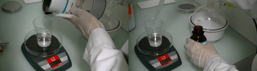 pdms soft lithography replication device polymer and curing agent scale