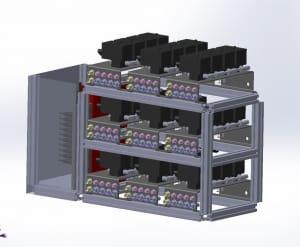 Microfluidic Flow controller 36 ouputs CAO