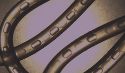 Microfluidic Droplets in capillary