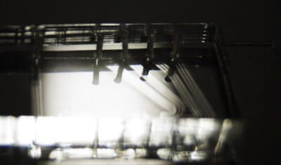 PDMS microfluidic light