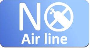no air line vacuum source