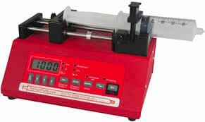 syringe pump for microfluidics