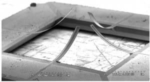 Microfluidic-Cantilever-liquid flow meter