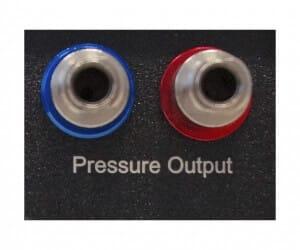VAN microfluidic pressure and vacuum compressor generator outlet