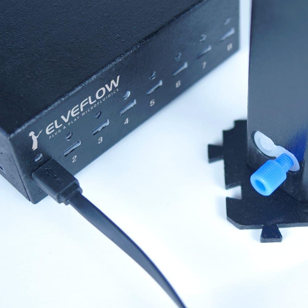Mux-wire-and-valves-connection-elveflow-microfluidics - Elveflow