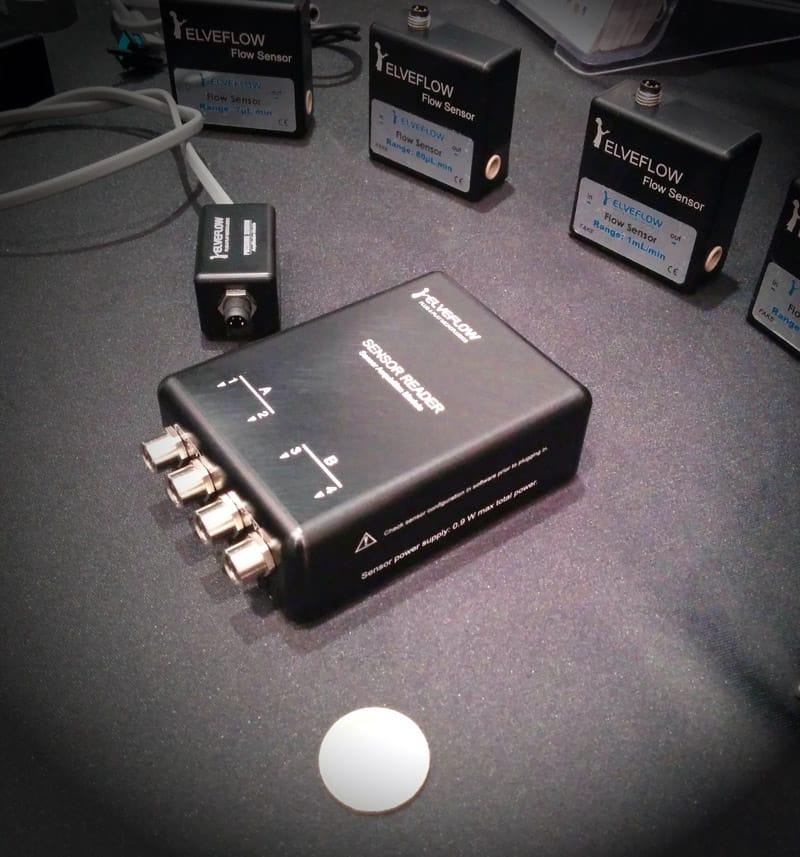 microfluidic sensor size