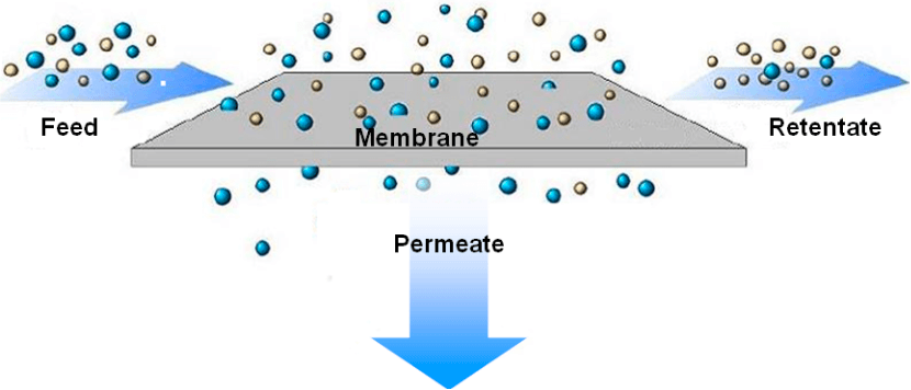 Solvent Permeation PDMS membrane