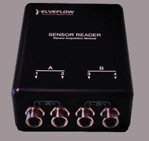 microfluidic fluidic sensor reader pressure
