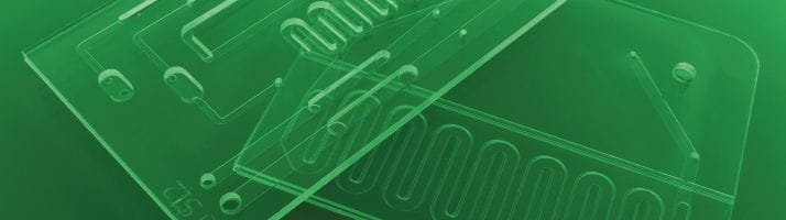 Aline microfluidic chip rapid protoyping and manufacturing