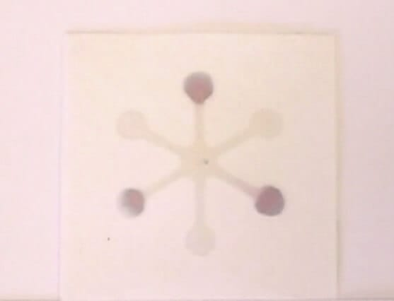 µPAD obtained by plasma treatment