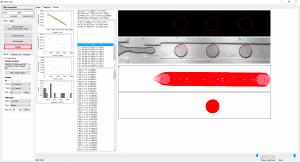 Microfluidic droplet generation flow focusing analysis 2