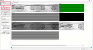 Microfluidic droplet generation flow focusing analysis