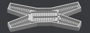 Microfluidic soft robot Multigait 3