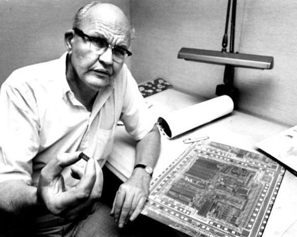 Jack Kilby-History Microfluidics-Elveflow-NBIC Valley-Startup-Innovation