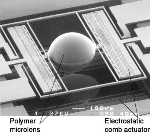 Polymer Microlens-Optical Detection-Microfluidics-Elveflow-Startup-NBIC Valley-Innovation