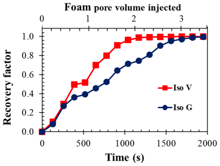 Recovery efficiency-foam-oil-porous medium-microfluidics-Elveflow