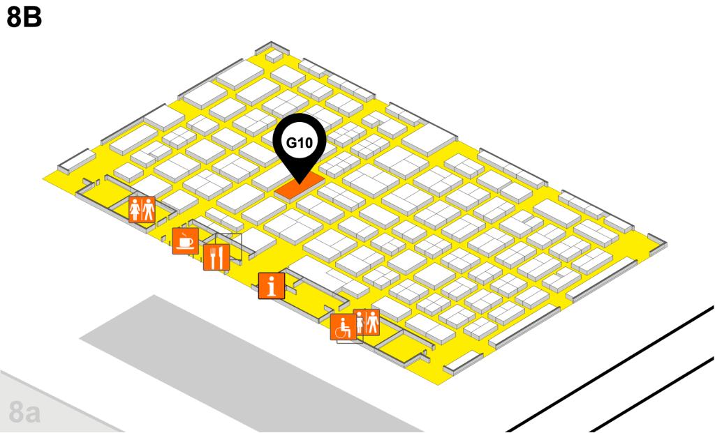 Elveflow microfluidics compamed floor plan